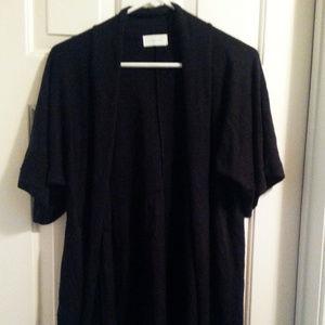 Maurices plus size 2 black cardigan